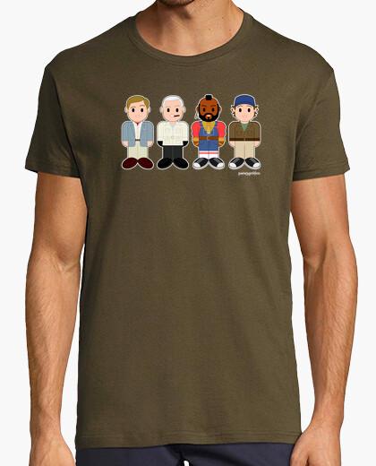 Camiseta Hannibal, Fénix, M.A. y Murdoch