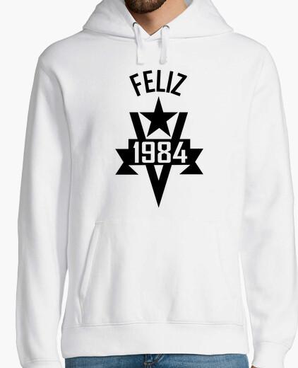 Happy 1984 hoody