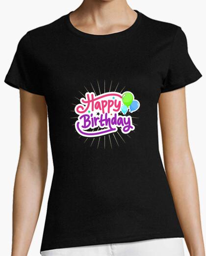 Tee-shirt Happy birthday
