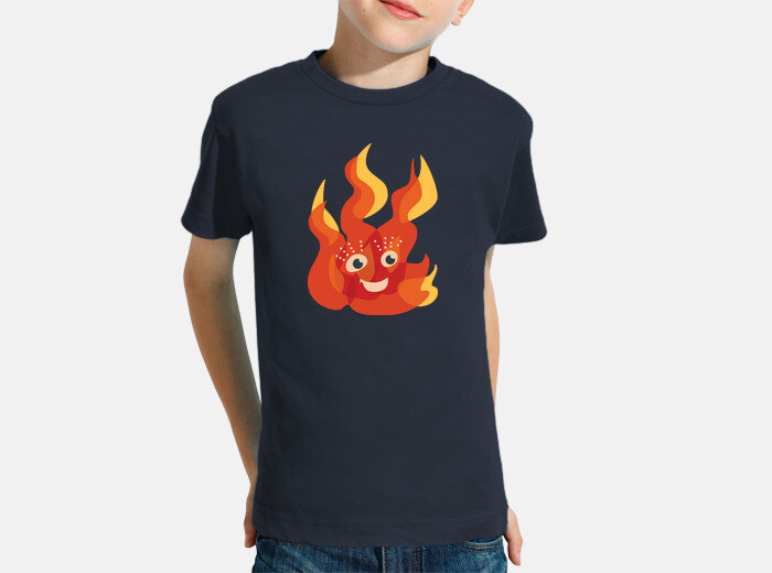 773e8c08b Happy Burning Fire Flame Character Children's clothes - 1353426 |  Tostadora.co.uk
