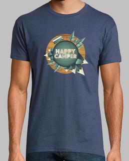 happy camper - glücklich um die welt mit meinem transporter - mann kurzen manga , extra qualität