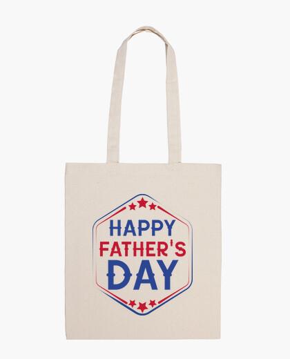 Happy Father's Day - Bolsa tela 100% algodón