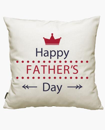 Funda cojín Happy fathers day 2