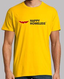 happy homeless