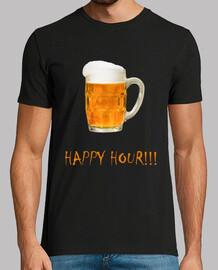 Happy Hour camiseta hombre manga corta