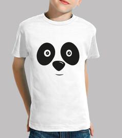 happy panda bear face