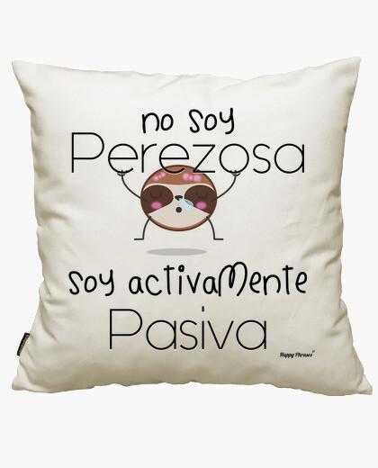 Funda cojín Happy Phrases - No soy perezosa Letras N