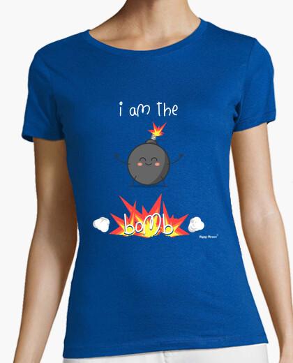 Camiseta Happy Phrases - Soy la bomba Inglés Let