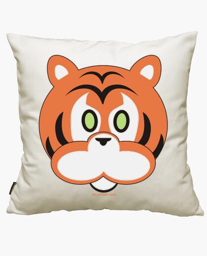 Funda cojín Happy tiger
