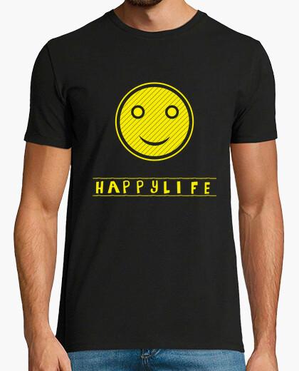 Tee-shirt HappyLife-smile-MAN