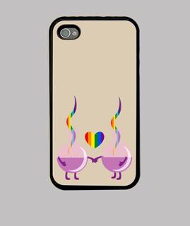 Hard Case iPhone 4, schwarz