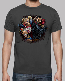 Harley & Negan camiseta chico