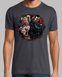 harley & negan t-shirt