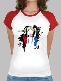 Harley Quinn hair style