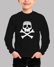 Harlock Skull Logo - Baby