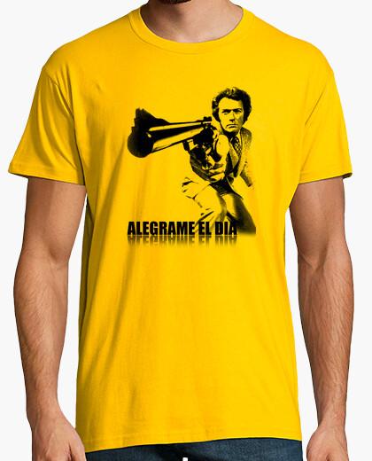 Camiseta Harry el sucio-Alegrame el dia