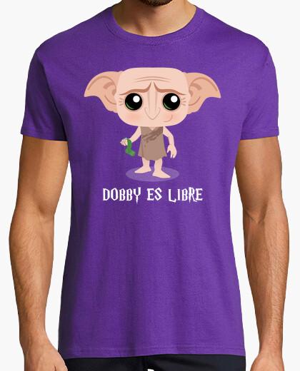 Harry potter dobby sock white t-shirt