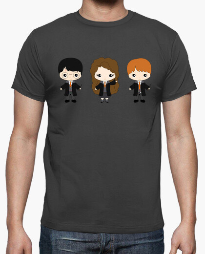 Harry, ron and hermione t-shirt