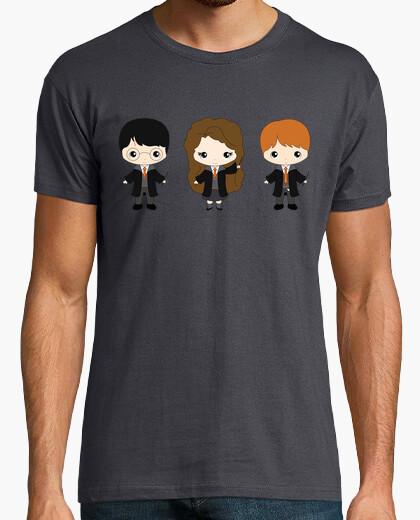Camiseta Harry, Ron y Hermione