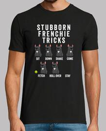 hartnäckige französische Bulldogge t ri