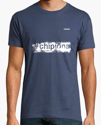 Camiseta Hashtag Chipiona White - Chipiona City