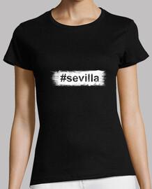 Hashtag Sevilla - Manga Corta Mujer