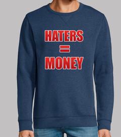 Haters = Money
