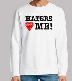 Haters Love Me Diamante