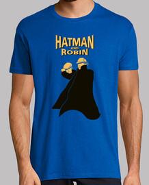 hatman e robin, los nuovo sherlock holmes e watson