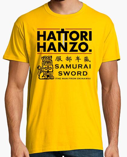 Tee-shirt Hattori Hanzo (Kill Bill)