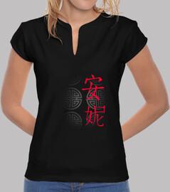 Haut à motifs chinois