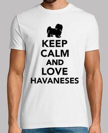 havaneses mantener la calma y ame