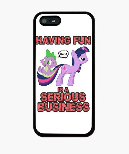 Funda iPhone Having Fun (Móvil)