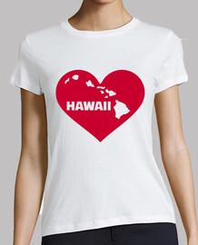 hawaii red heart