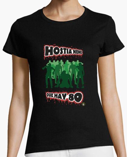 Camiseta Hay 80 zombis