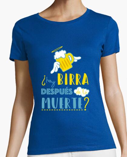 Camiseta ¿Hay birra después de la muerte?