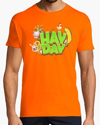 Camiseta Hay Day Logo