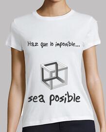 Haz posible lo imposible clara (Cubo, mujer)