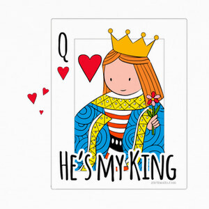 He is my king. Color. T-shirts