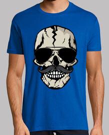 head of death hipster skull skull