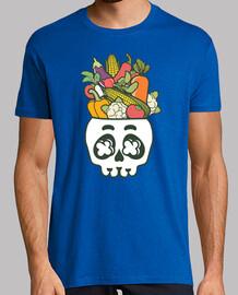 head skull végétal 2