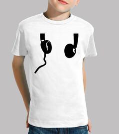 Headphones sound