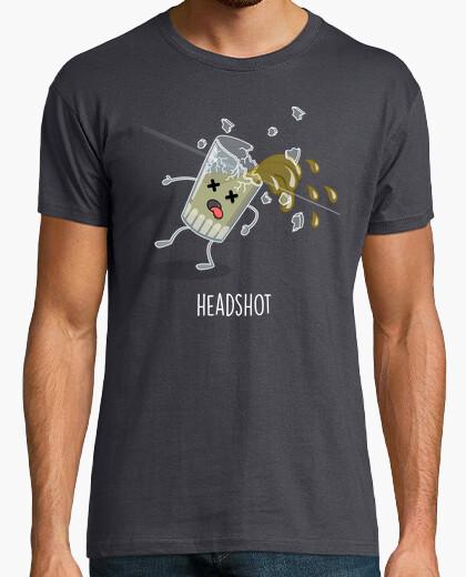 T-shirt headshot!