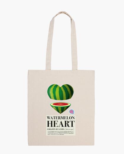 Heart bag melon