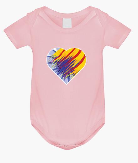 Ropa infantil Heart for Catalunya