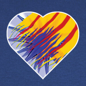 Camisetas Heart for Catalunya