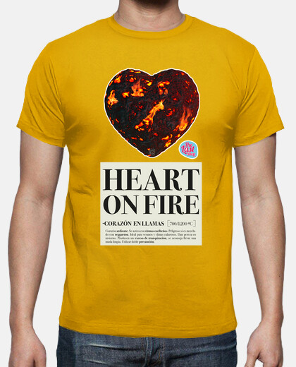 heart on fire man