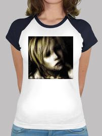Heather Silent Hill - Camiseta estilo béisbol para chica
