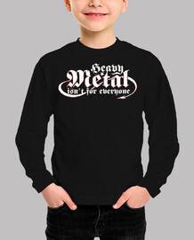 Heavy Metal isn't for everyone (blanco)