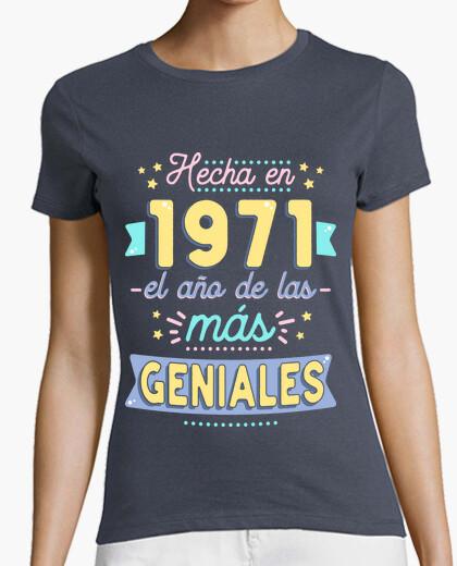 Camiseta Hecha en 1971 el año de las más...